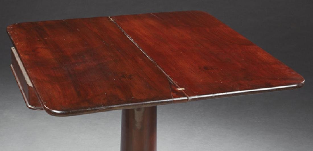 American Classical Carved Mahogany Games Table, 19th - 2