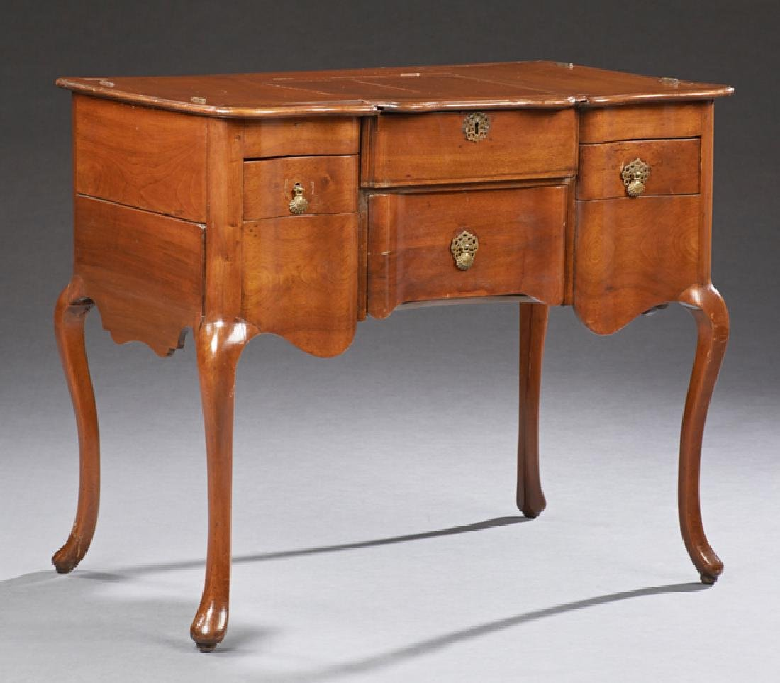 French Louis XV Style Cherry Poudreuse, early 20th c.,