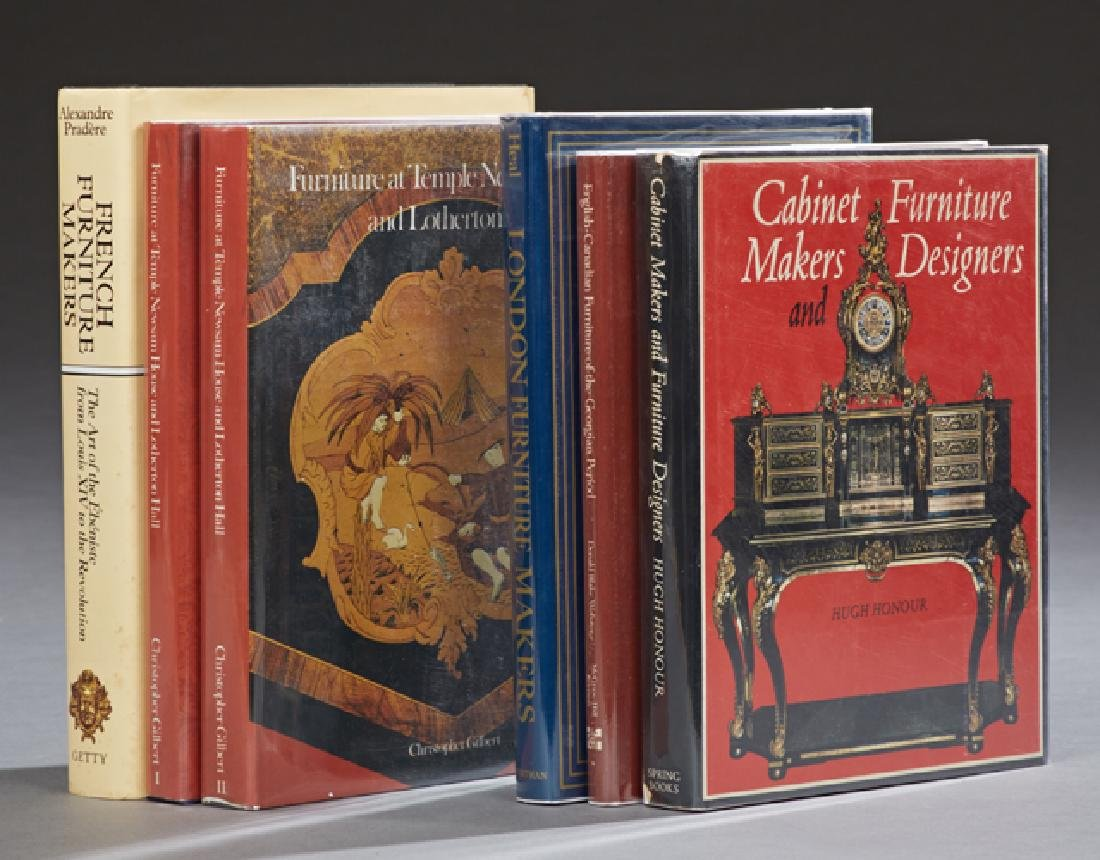 Group of Six Books on Furniture, consisting of