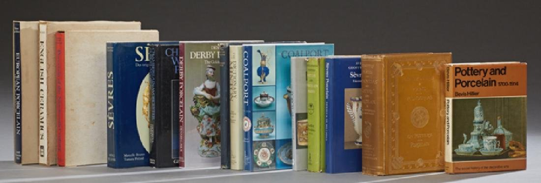 Group of Fourteen Pottery and Porcelain Books,