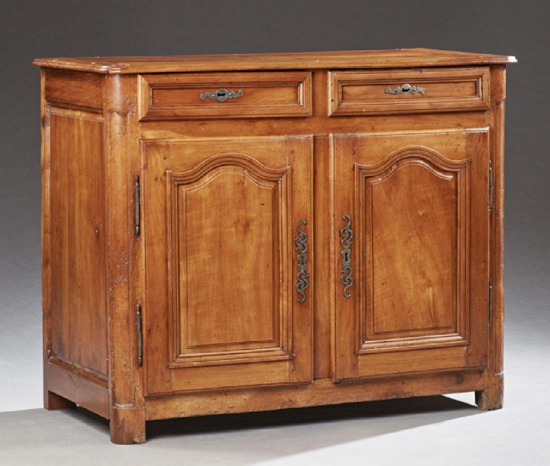 French Louis XV Style Carved Walnut Sideboard, c. 1880,