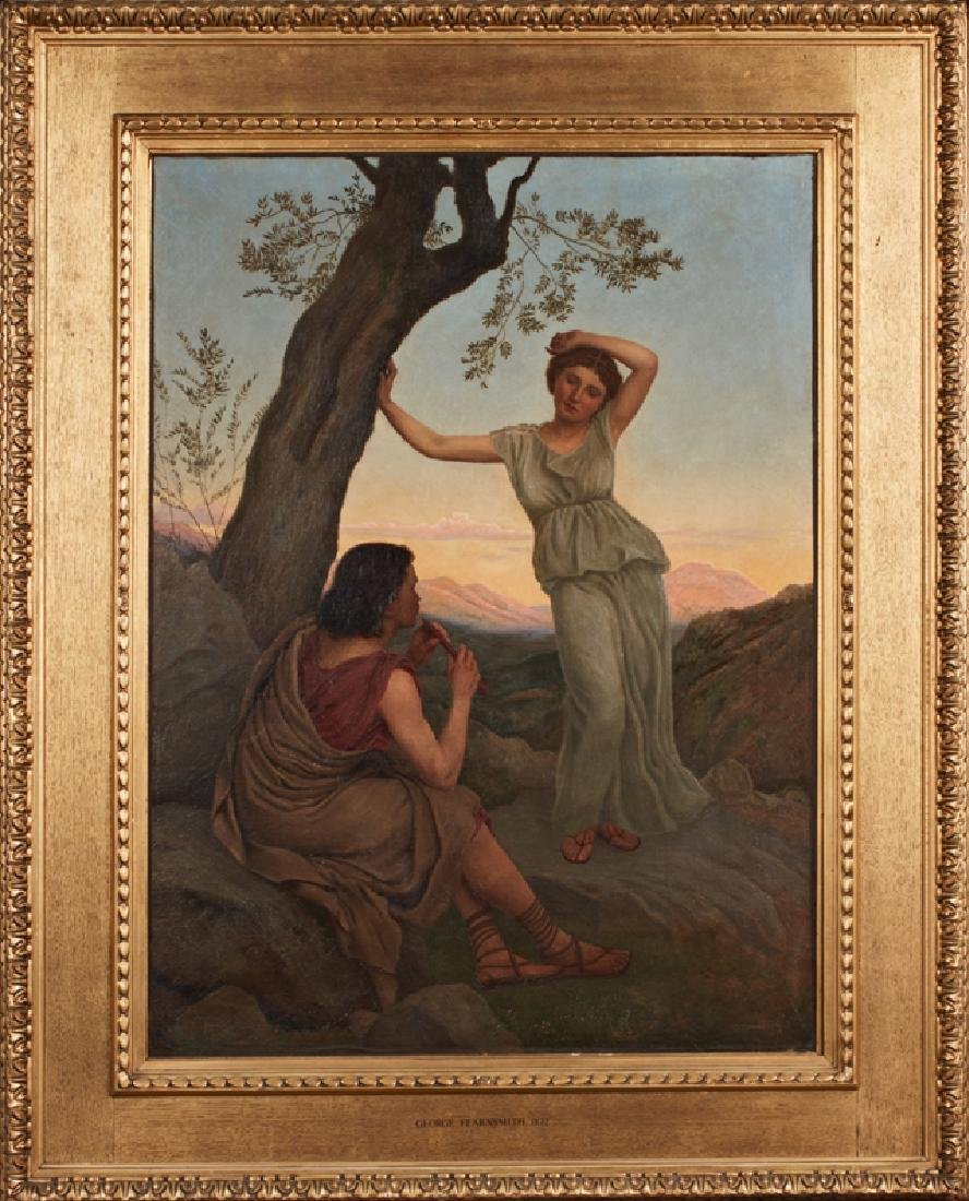 """George Fearn Smith (1835-1926), """"Classical Lovers in a"""