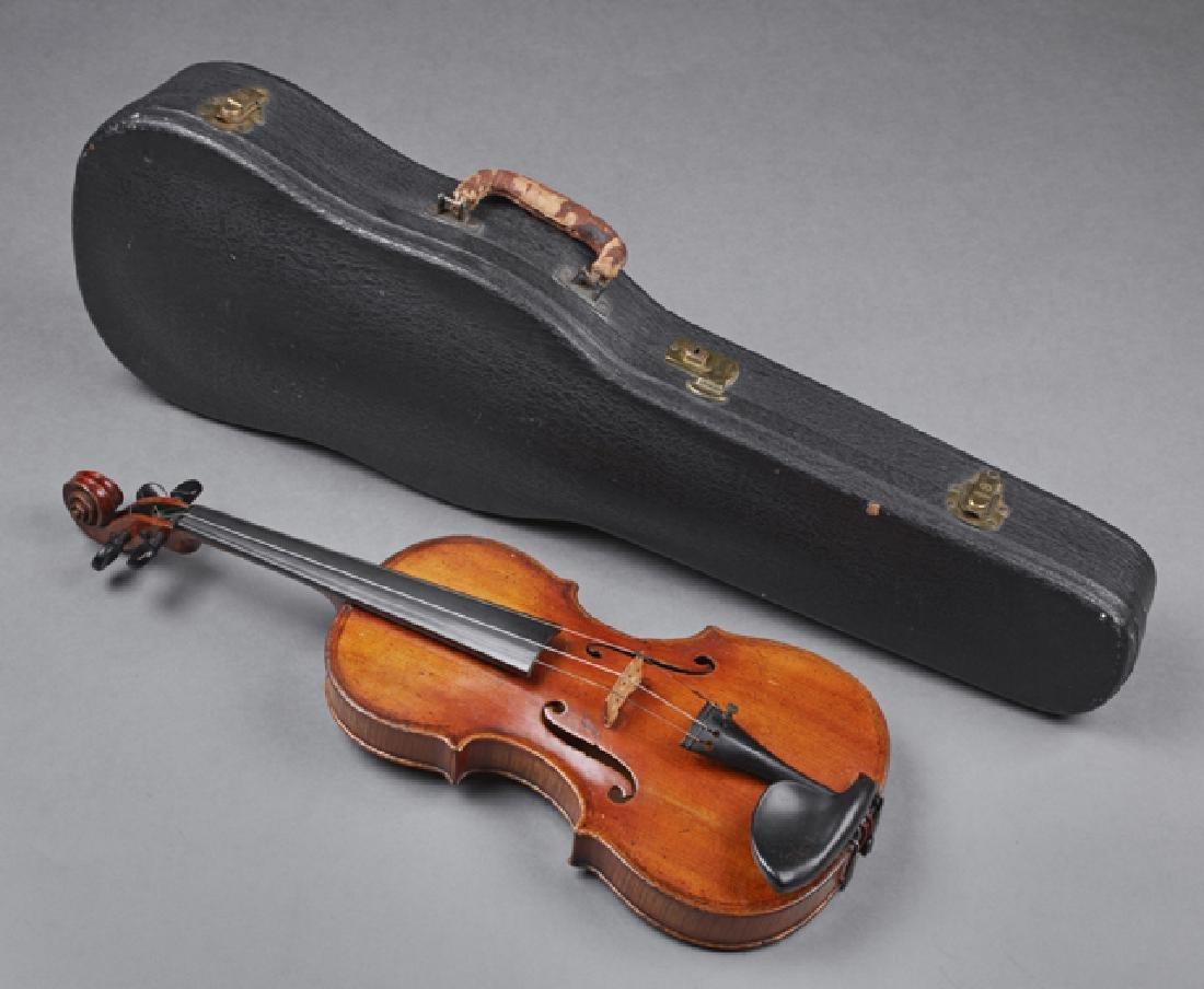 John Friedrich Violin, 1883, New York, the interior
