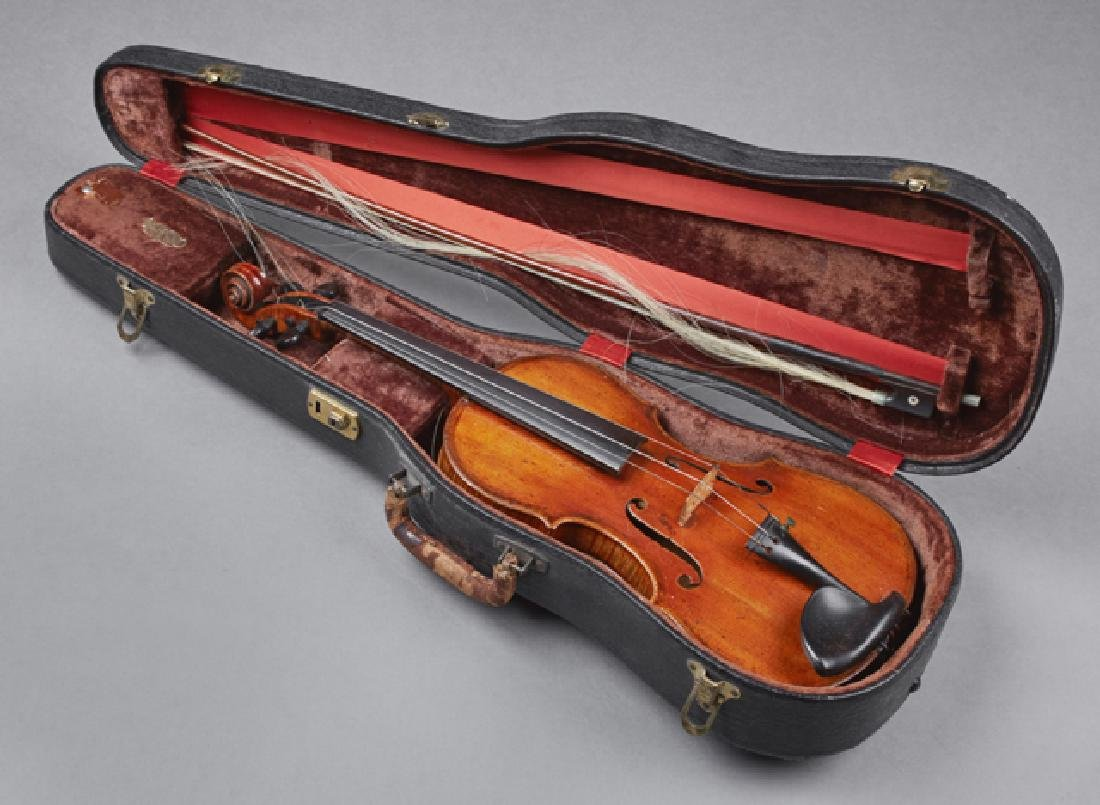 John Friedrich Violin, 1883, New York, the interior - 2