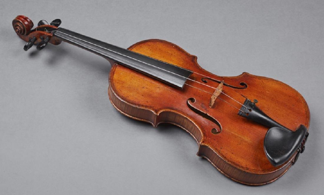 John Friedrich Violin, 1883, New York, the interior - 3