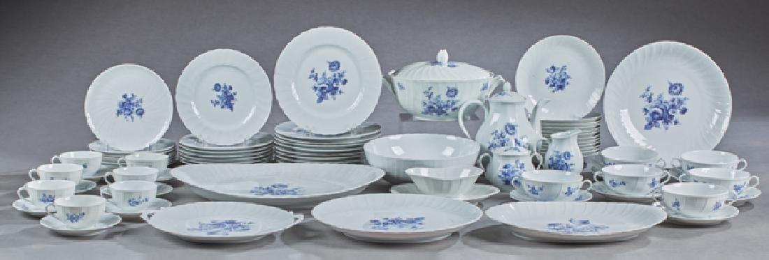 One Hundred Ten Piece Set of Limoges Porcelain
