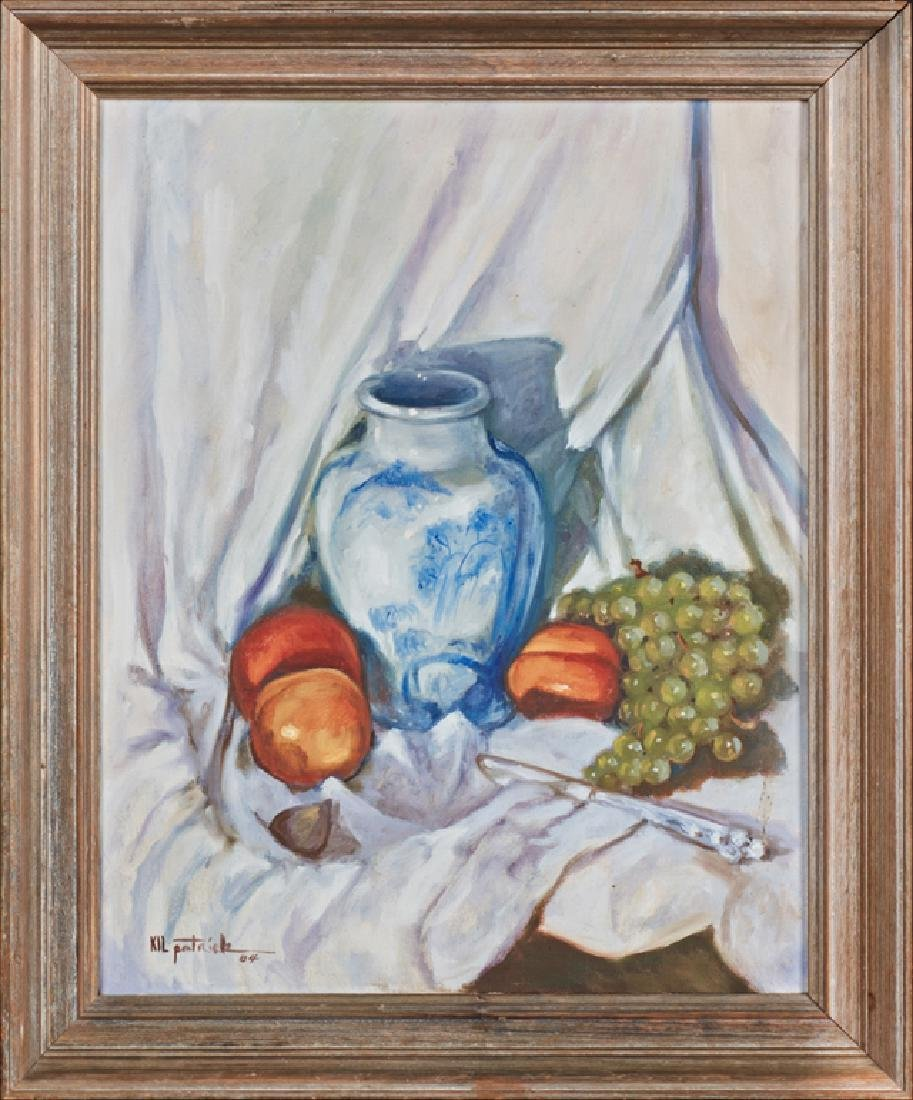 "Kilpatrick, ""Still Life of Fruit and a Vase on a"