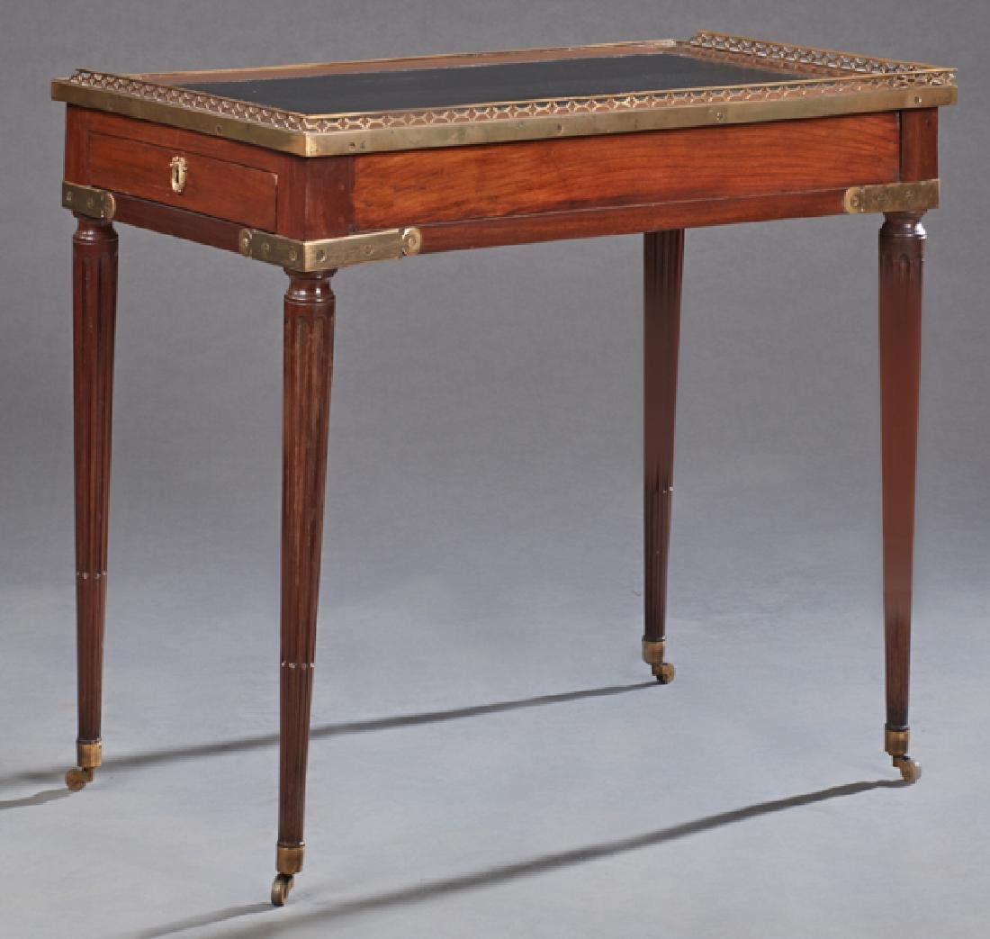 French Louis XVI Style Diminutive Writing Table, 19th