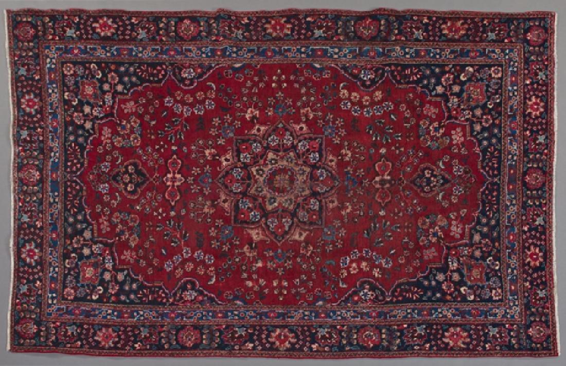 Mashad Carpet, 9' x 5' 8.