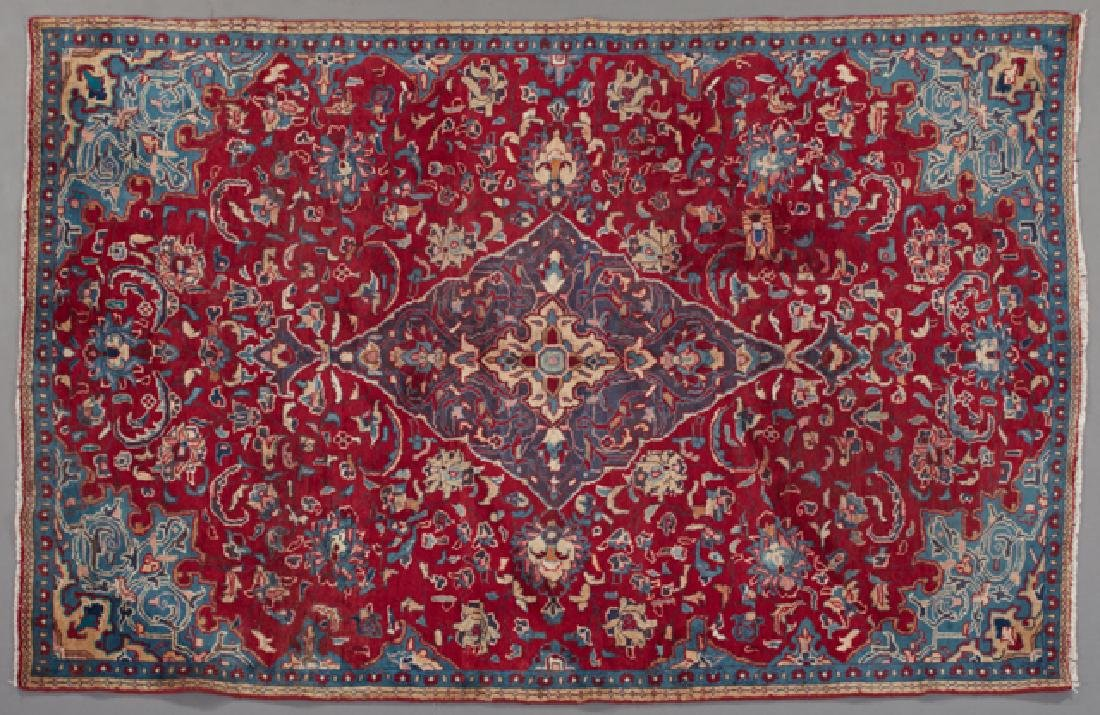 Kashan Carpet, 5' 3 x 8'.