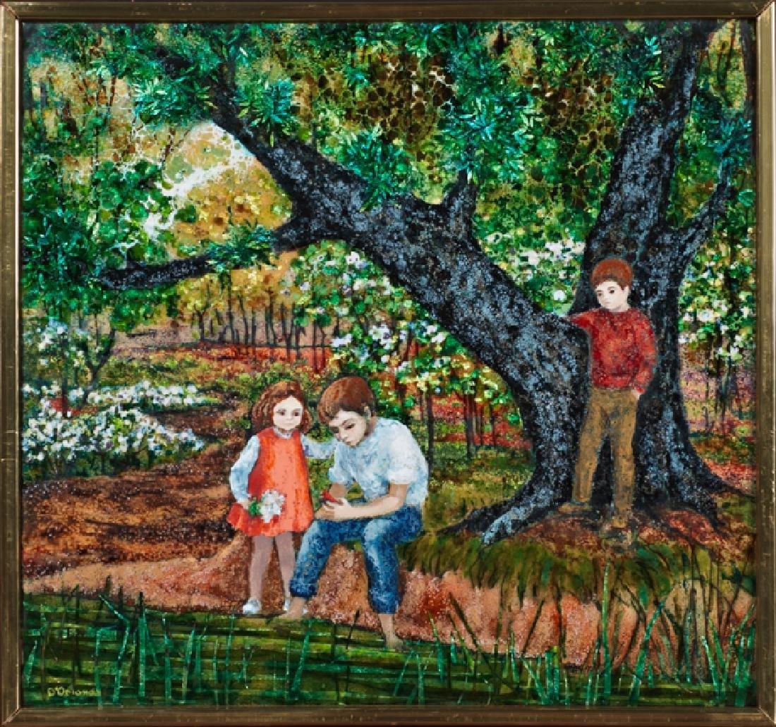 "Pauly D'Orlando (1915-1978, New Orleans), ""Three"