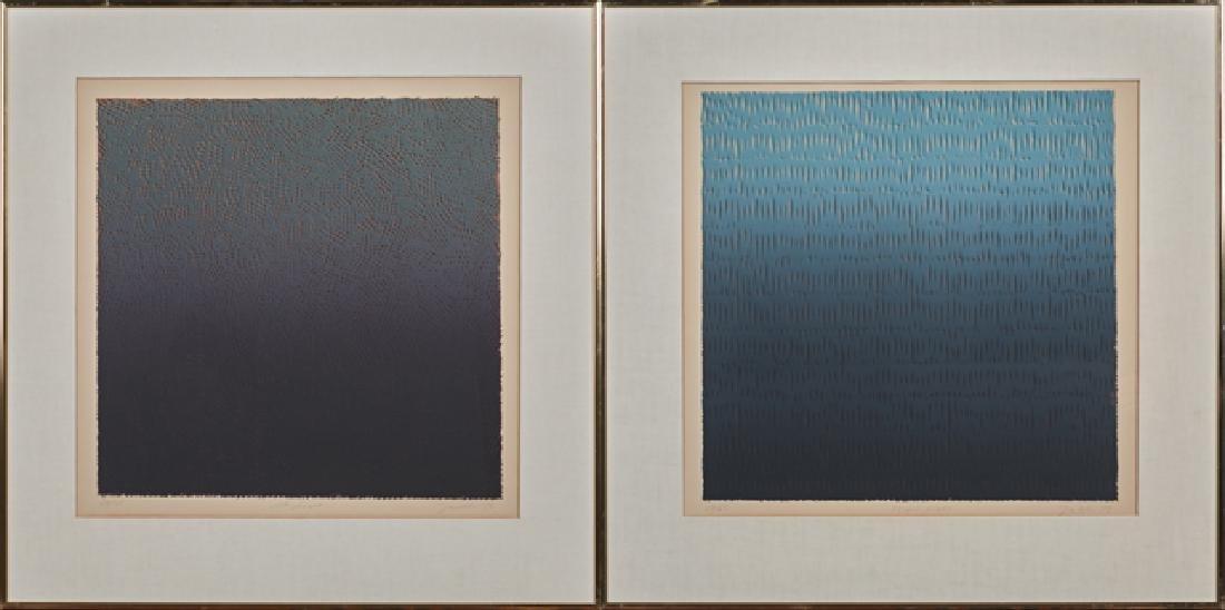 """Bill Jaklin (1943- , British), """"Night Light,"""" 1975,"""