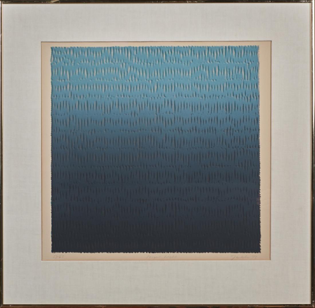 """Bill Jaklin (1943- , British), """"Night Light,"""" 1975, - 2"""