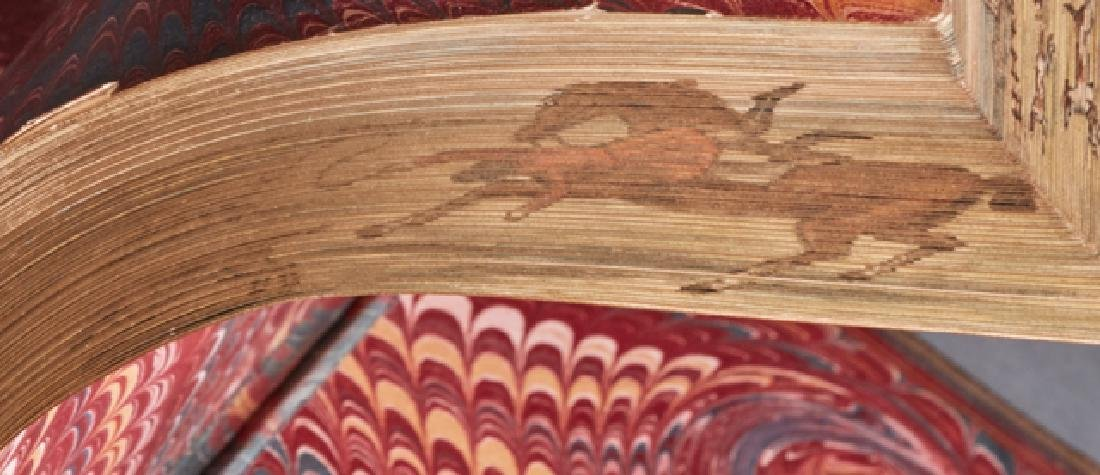 """Fore Edge Painting Book, """"The Nobility of Life, Its - 2"""