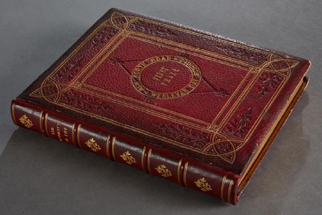 """Fore Edge Painting Book, """"The Nobility of Life, Its - 5"""