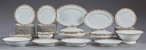 Seventy-Three Piece Set of Limoges Porclain Dinnerware,