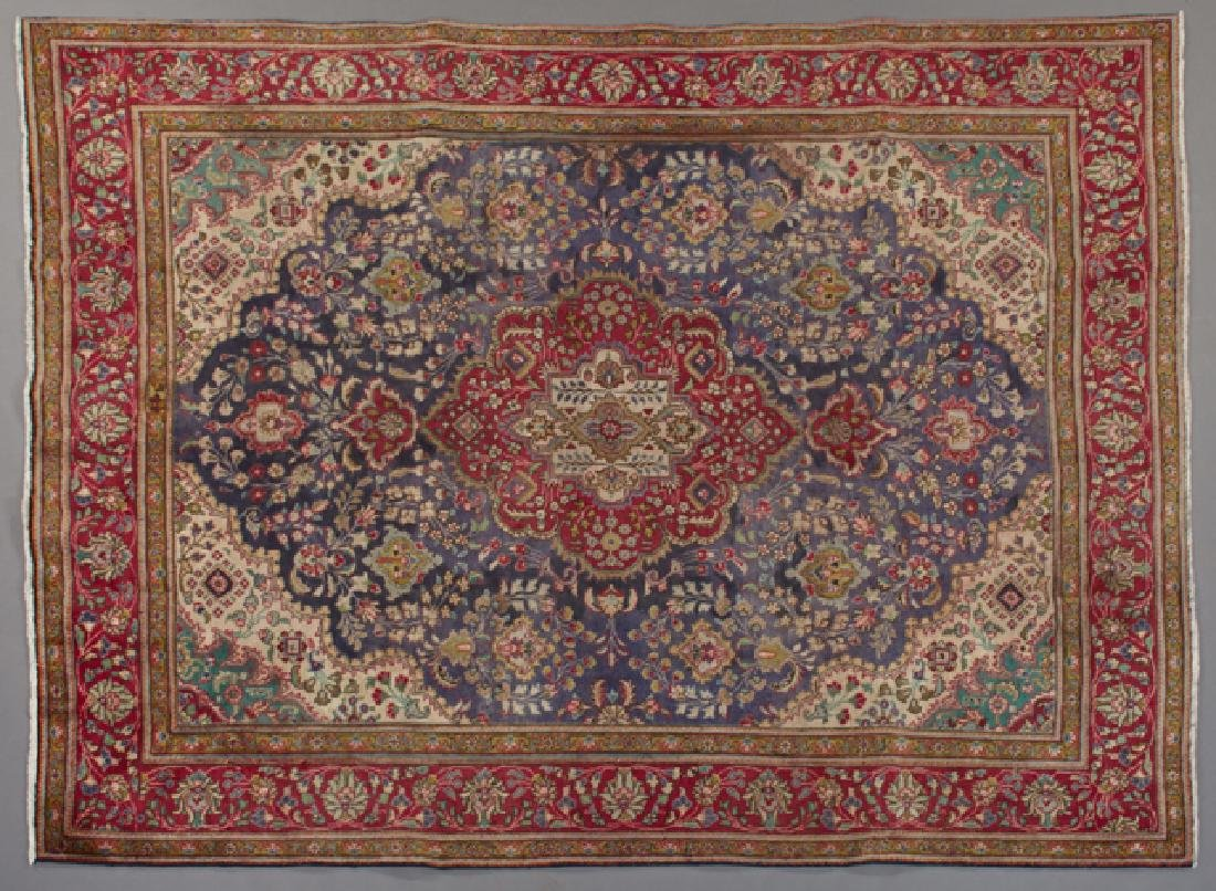 Tabriz Carpet, 8' 3 x 10' 7.