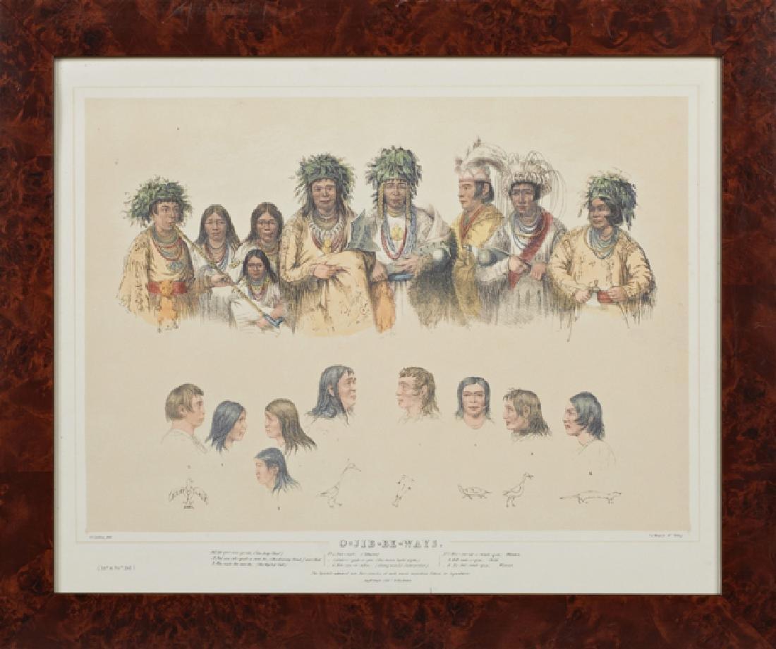 "George Catlin (1796-1872), ""Buffalo Hunt On Snow - 3"