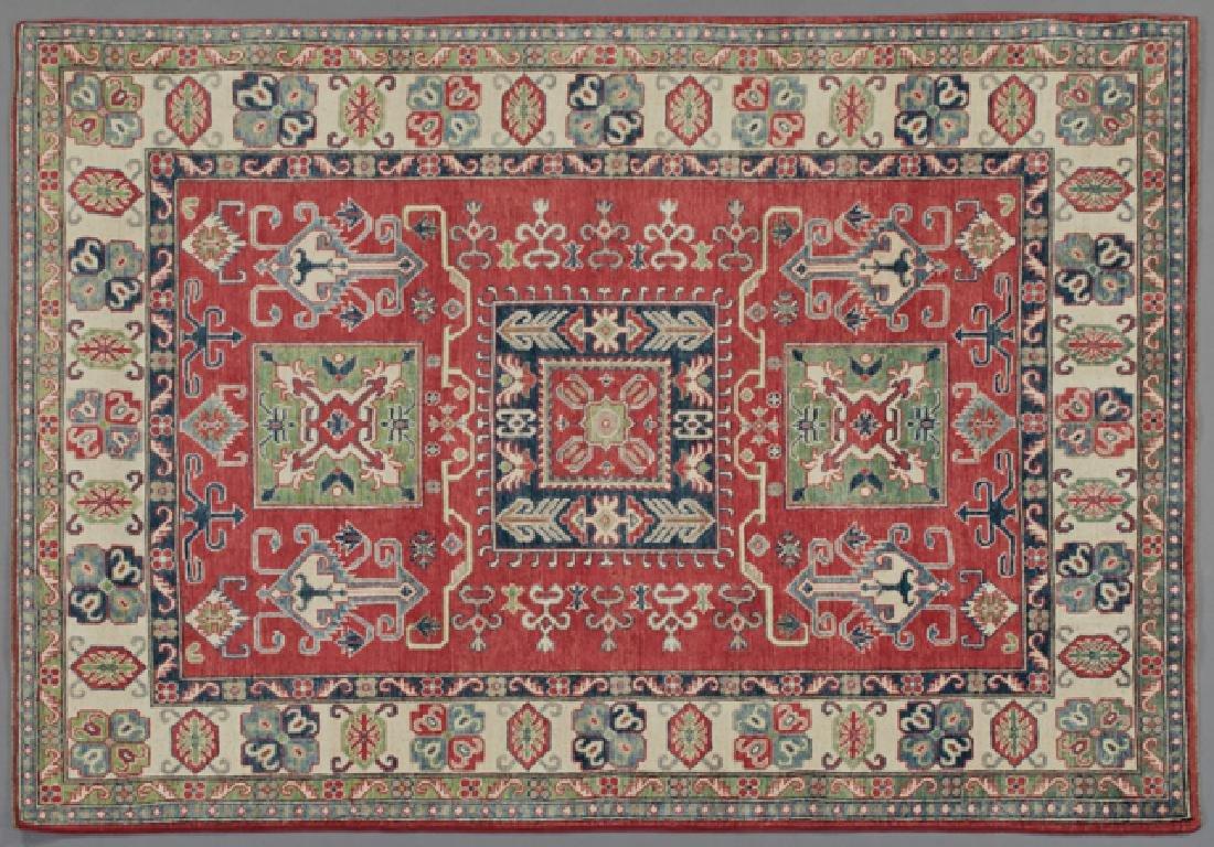 Uzbek Kazak Carpet, 5' 5 x 7' 2.