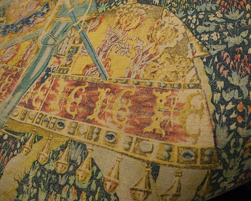 """Flemish Tapestry, """"Le Chevalier,"""" after the 16th c. - 6"""