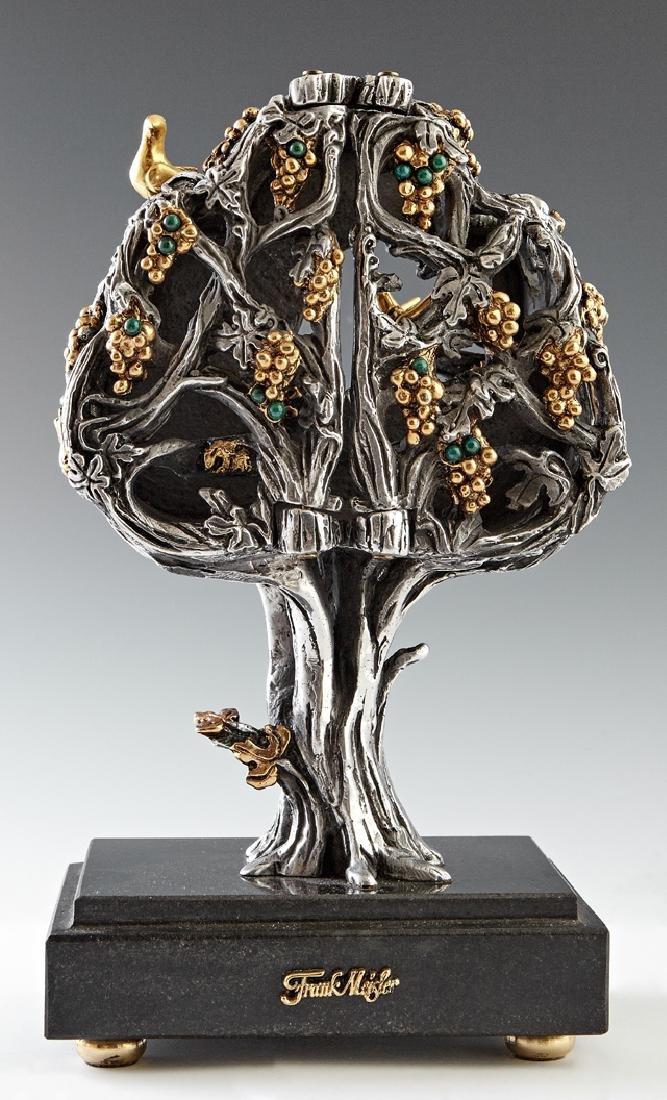"""Frank Meisler (1929-2018, Israel), """"Tree of Life,"""" - 2"""