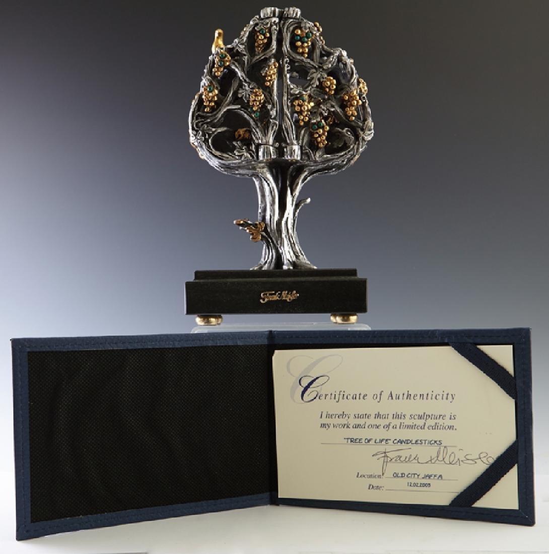 """Frank Meisler (1929-2018, Israel), """"Tree of Life,"""" - 4"""