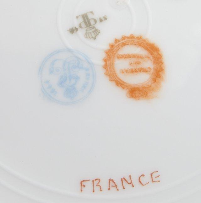 Group of Twenty-Five Sevres Style Porcelain Pieces, c. - 3