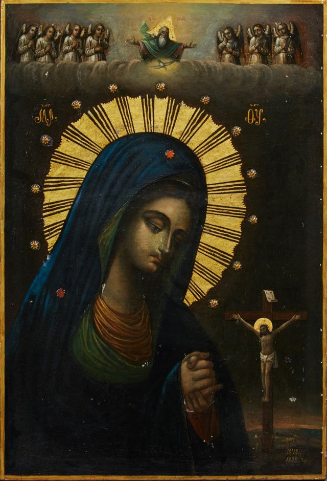 Russian Icon of the Virgin Akhtirskaya, Moscow, - 2