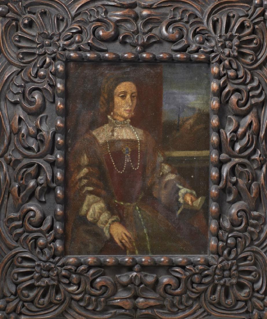 "South American School, ""Portrait of a Noble Woman,"""