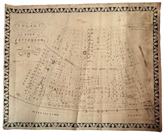 "William H. Williams (1817-1886), ""Plan of the City of"