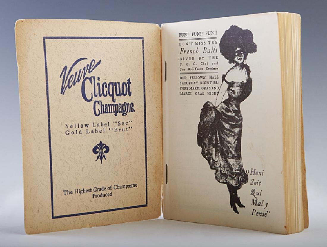 """New Orleans """"Blue Book,"""" c. 1960-1970, after the 1909 o - 2"""