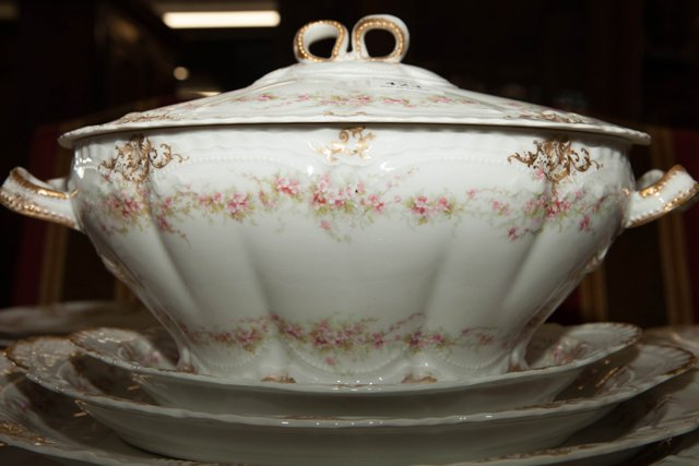 One Hundred Eight Piece Set of Limoges Porcelain - 8