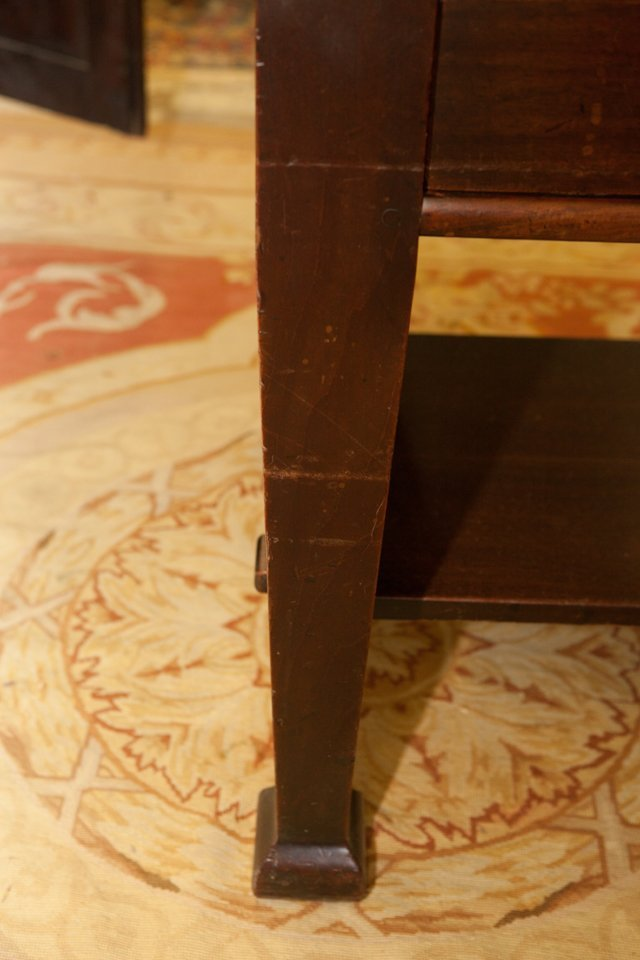 Roycroft Arts and Crafts Mahogany Mission Desk, early - 10