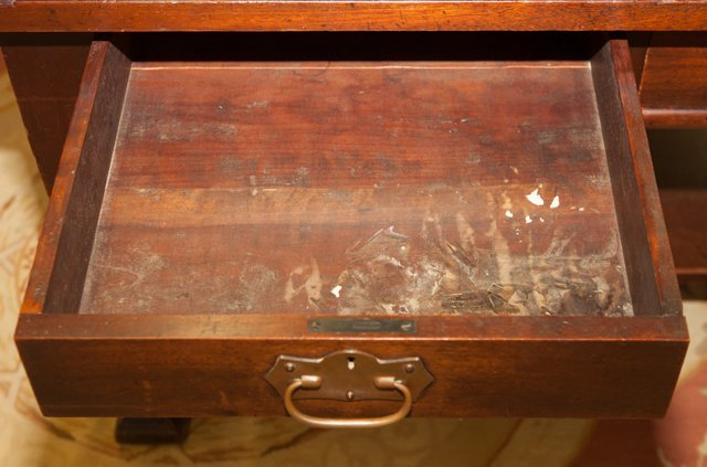 Roycroft Arts and Crafts Mahogany Mission Desk, early - 2