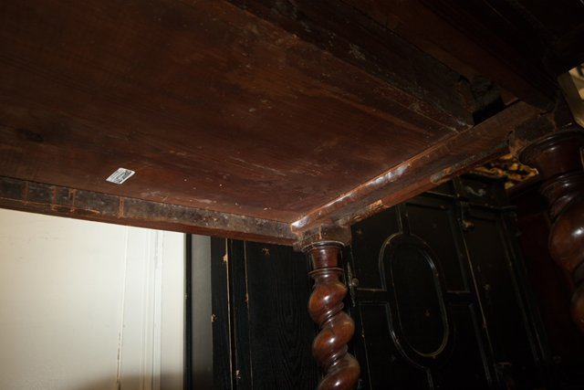 French Provincial Carved Walnut Writing Table, 18th c., - 3