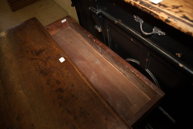 French Provincial Carved Walnut Writing Table, 18th c., - 6
