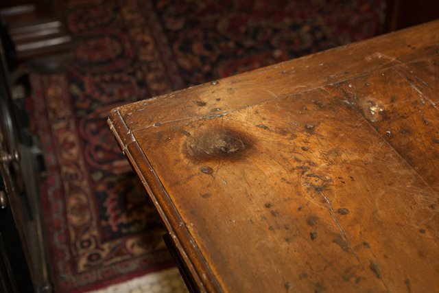French Provincial Carved Walnut Writing Table, 18th c., - 7