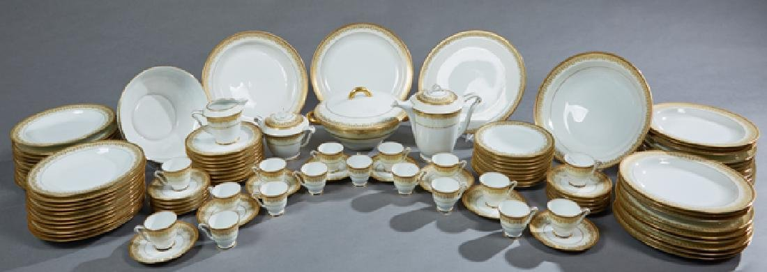 Sixty-Two Piece Charles Field Haviland Porcelain