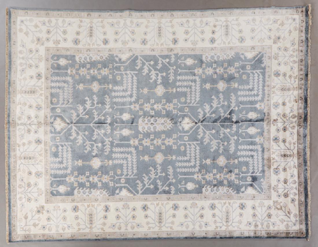 Bamboo Silk Sultanabad Carpet, 7' 10 x 9' 10.