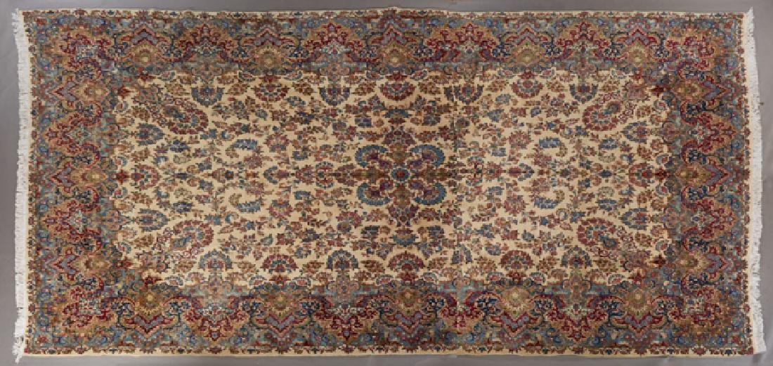 Kerman Wool Carpet, 10' 10 x 20 '4.