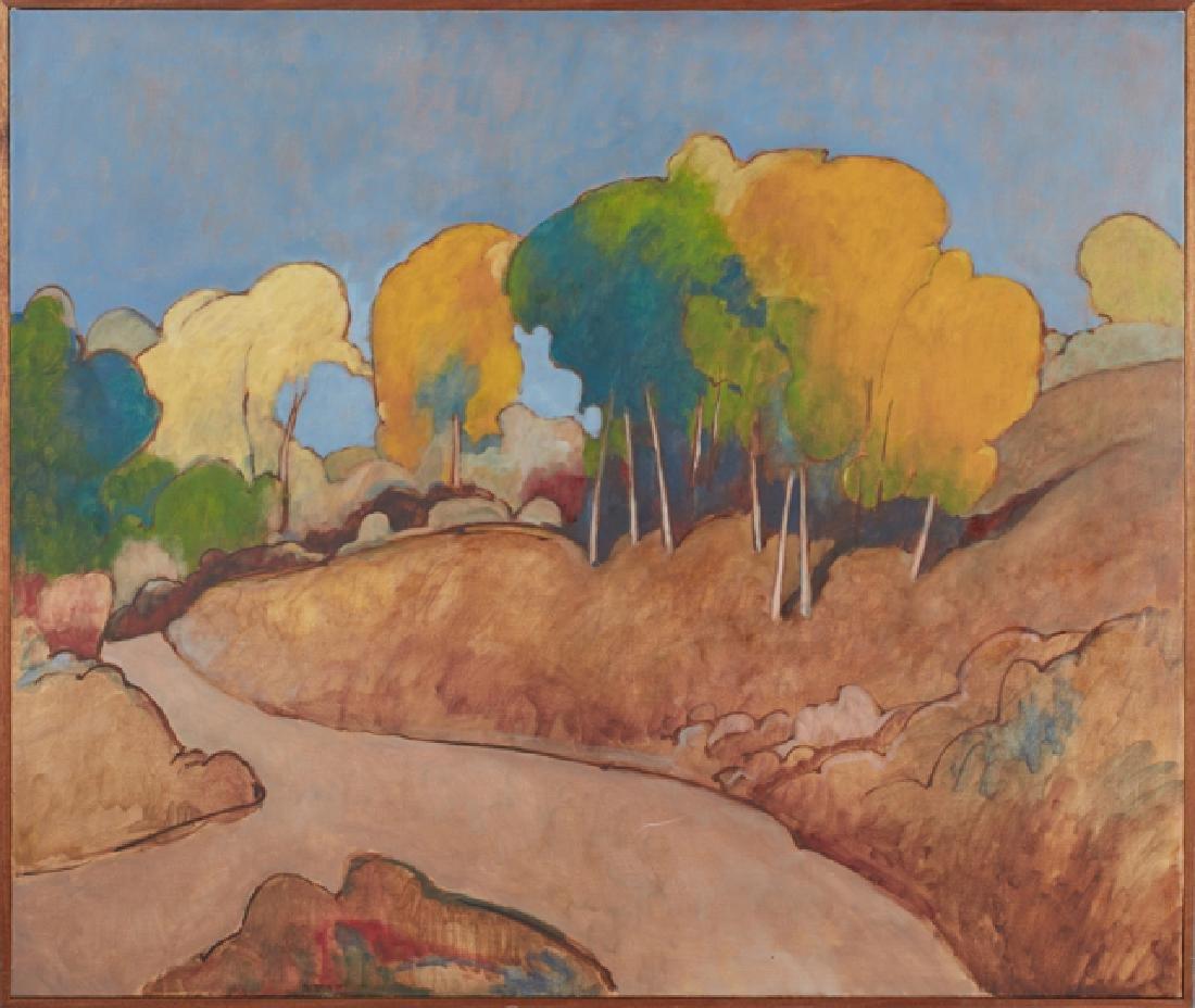"Andrew W. Taylor (1949- , Colorado), ""Autumnal Mountain"