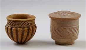 "Ian Godfrey (1942-1992, English), ""Brown Stoneware"