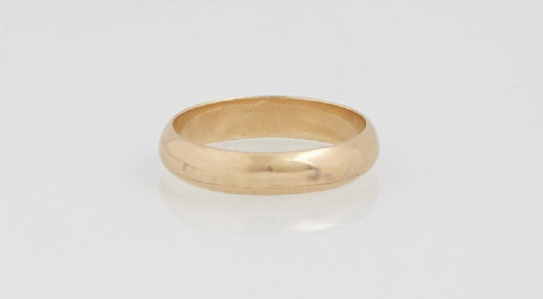 Group of Three Yellow Gold Rings, consisting of a 14K - 2