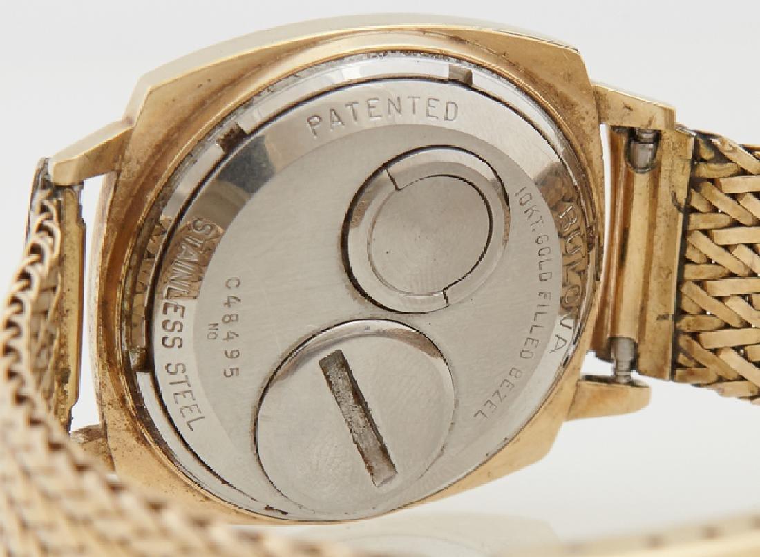 Bulova Accutron Spaceview Gold Filled Man's Wristwatch, - 2
