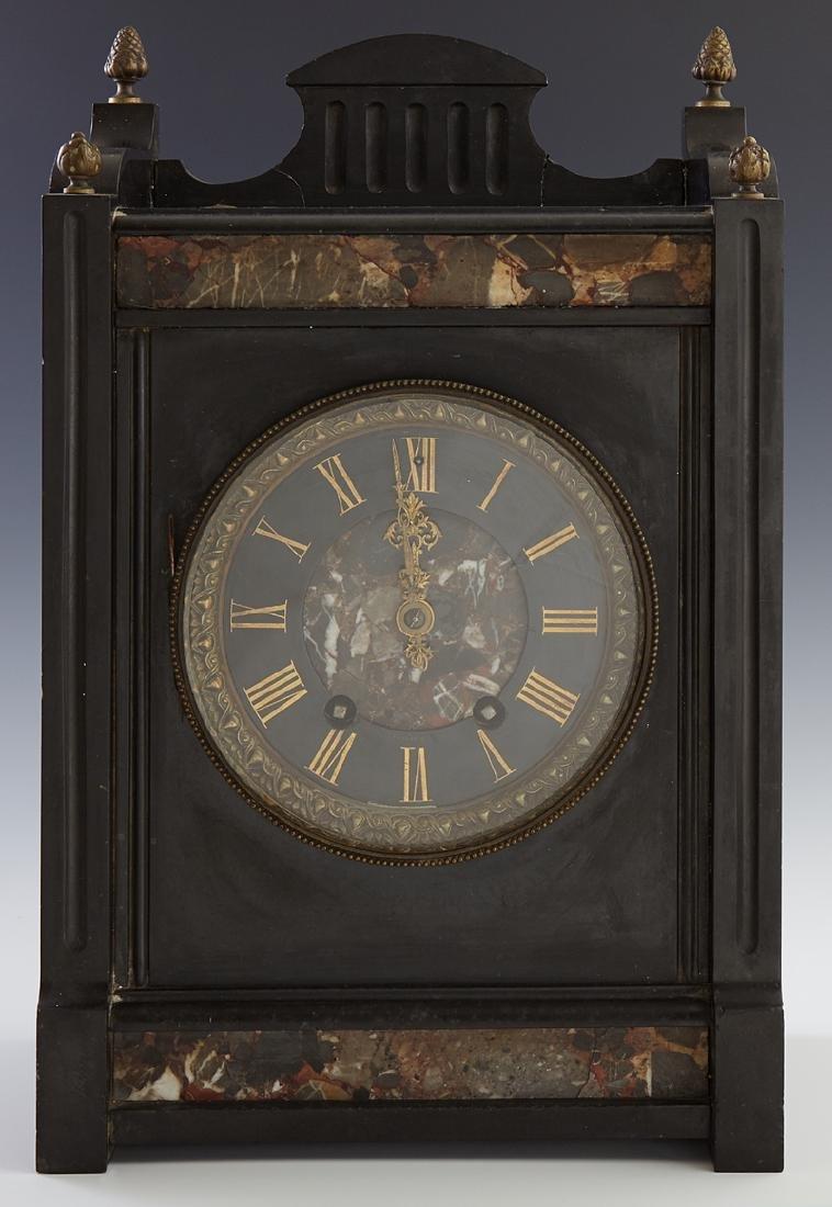 Tiffany & Co. Retailed French Aesthetic Mantel Clock,