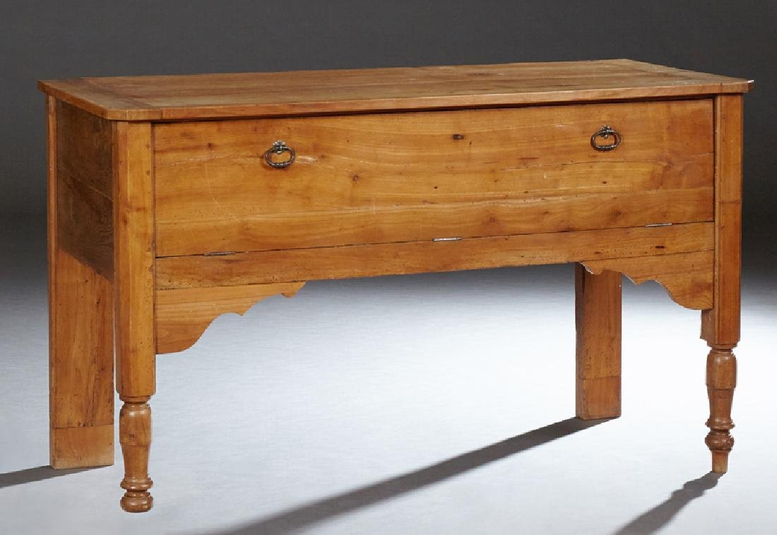 French Provincial Carved Cherry Petrin, 20th c., the