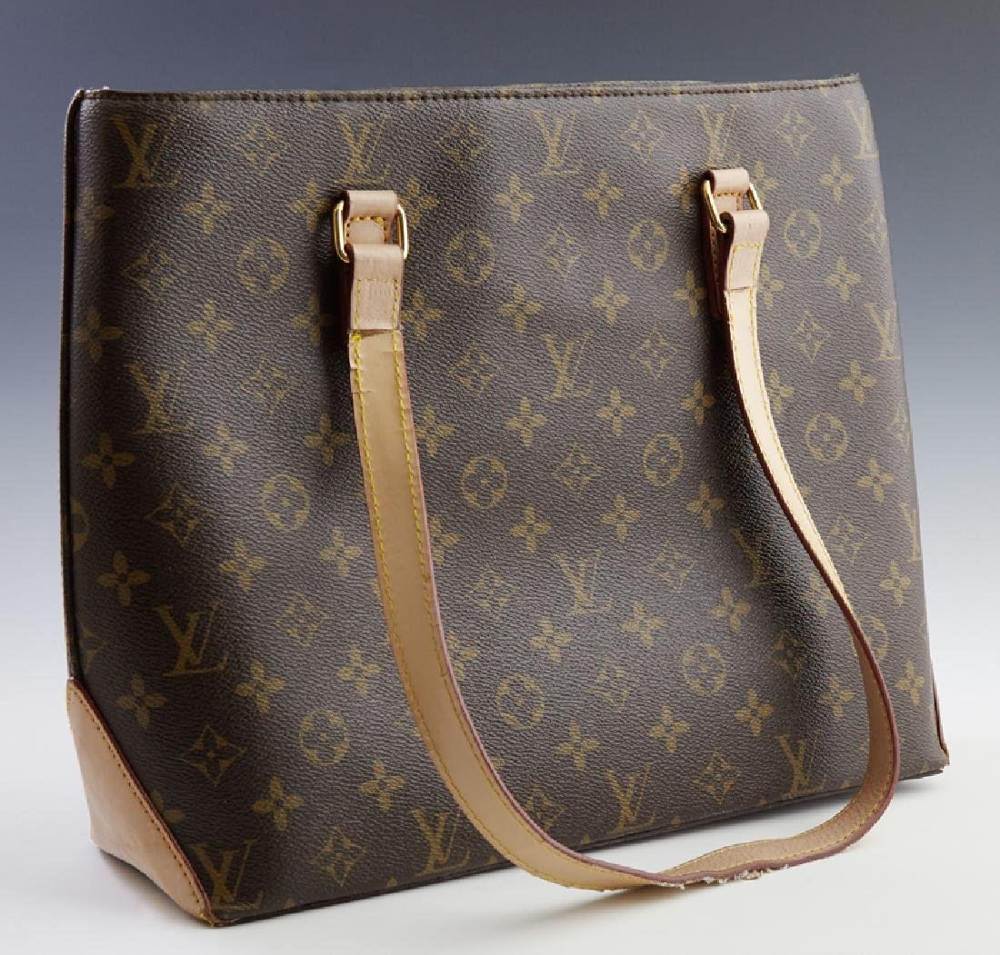 Louis Vuitton Classic Monogram Canvas Tote Purse, 20th