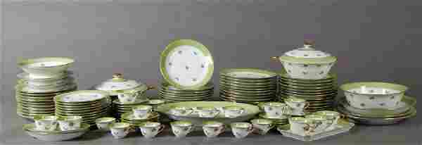 Seventy-Eight Piece Set of French Limoges Porcelain