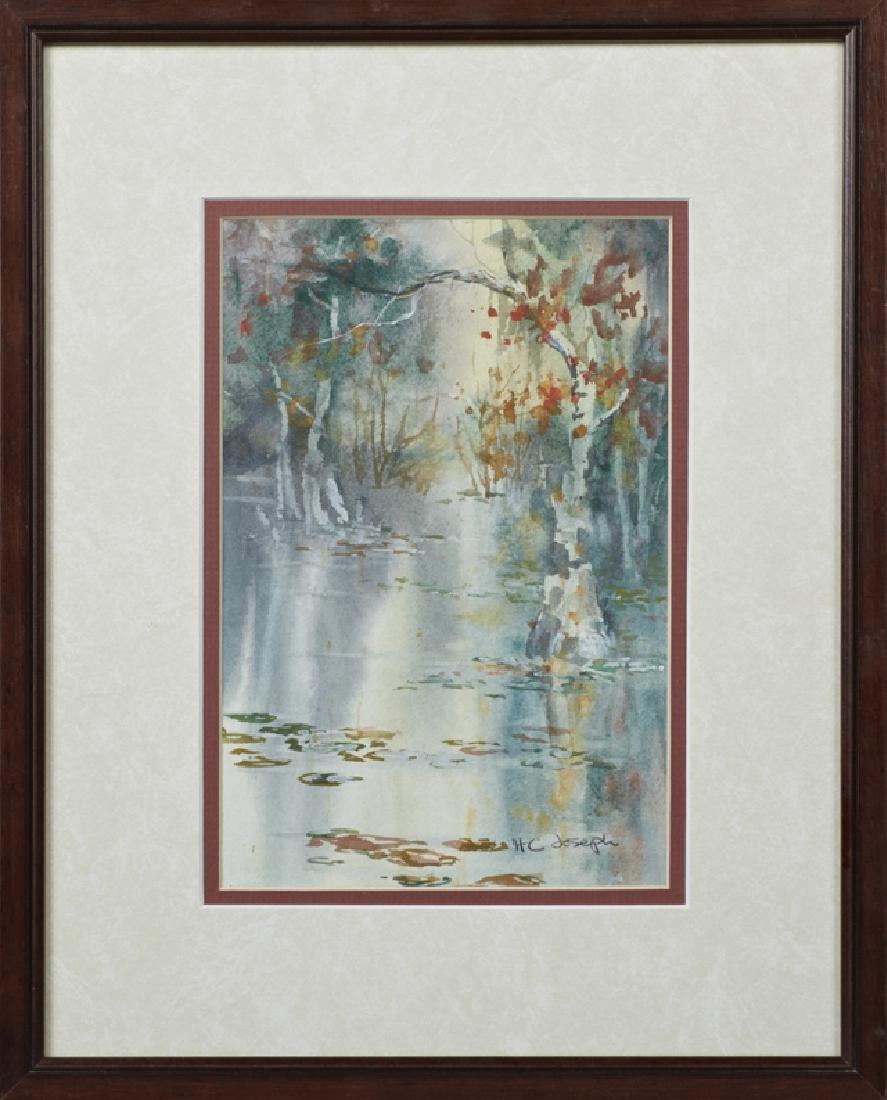 "Henrietta C. Joseph (Louisiana), ""Swamp Scene,"" 20th"