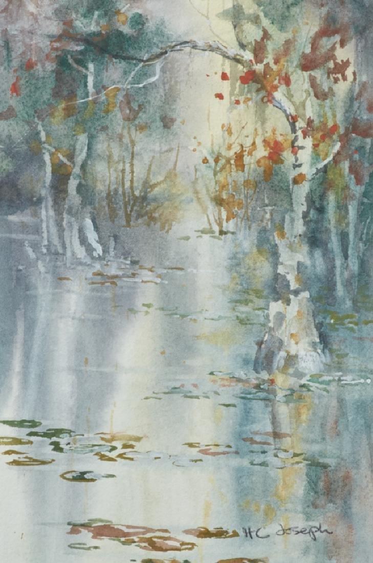 "Henrietta C. Joseph (Louisiana), ""Swamp Scene,"" 20th - 2"
